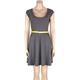 FULL TILT Belted Stripe Dress