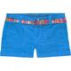 VANILLA STAR Poplin Belted Girls Shorts