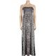 FULL TILT Scarf Print Maxi Tube Dress