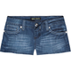 ZCO Wing Back Pocket Womens Denim Shorts