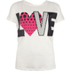FULL TILT Polka Dot Love Girls Tulip Back Tee