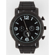 Matte Black Out Rubber Watch