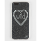 WILDFLOWER Glitter iPhone 6 Case