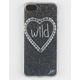 WILDFLOWER Glitter iPhone 5/5S Case
