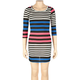 FULL TILT Stripe Body Con Girls Dress