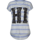 FULL TILT Hi Bye Stripe Girls Tee