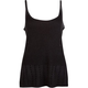 FULL TILT Open Stitch Fringe Womens Tank