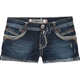 HYDRAULIC Whip Stitch Womens Denim Shorts