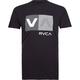 RVCA Striped Box Mens T-Shirt