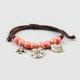 FULL TILT Corded Bead Charm Bracelet