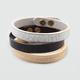 KEEP A BREAST Embossed Bracelet Set