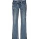 VANILLA STAR Back Flap Pocket Womens Bootcut Jeans