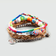 FULL TILT 4 Piece Multi Bead Peace Bracelets