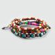FULL TILT 4 PIECE Multicolored Bead Bracelets