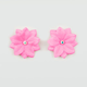 FULL TILT 2 Piece Neon Flower Hair Clips