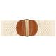 Crochet Stretch Womens Belt