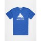 BURTON Stamped Mountain Mens T-Shirt