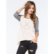 SEA GYPSIES Dreamer Womens Raglan Tee