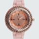 GENEVA Oversized Rubber Band Watch