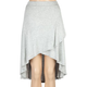 FULL TILT Solid Wrap Hi Low Skirt
