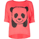 FULL TILT Hi Bye Panda Girls Tee