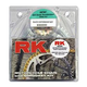 RK Quick Acceleration Chain & Sprocket Kit with Lightweight Steel Sprockets