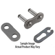 RK 520 XSO Standard X-Ring Motorcycle Chain Rivet Connecting Link