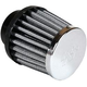 K&N Universal Round Tapered Chrome Air Filters