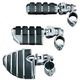Kuryakyn ISO Footpegs With Mounts & Magnum Quick Clamps