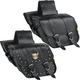 Willie & Max Compact Motorcycle Saddlebags