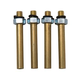 Motion Pro Replacement 6mm Short Brass Adapters for Sync Pro