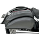 Saddlemen Cruis'n� Deluxe Saddlebag Set With Chrome Supports