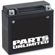 Parts Unlimited AGM Maintenance-Free Battery (YTX14AH-BS)