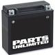 Parts Unlimited AGM Maintenance-Free Battery (YTX20HL-BS)