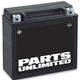 Parts Unlimited Factory Activated AGM Maintenance-Free Battery (YT7B-BS)