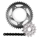 Vortex Superstreet Chain & Sprocket Kit