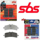 SBS Racing Dual Carbon Brake Pads