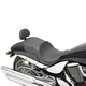 Drag Specialties Low-Profile Touring Seat for Victory OEM Backrest