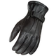 Power Trip Jet Black Lined Gloves