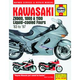 Haynes Manual Kawasaki ZX900, 1000 & 1100 Ninjas (Manual # 1681)