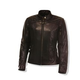 Olympia Moto Sports Women's Janis Leather Jacket