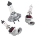 Candlepower Halogen Headlight Bulb