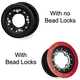 HiPer Racing Wheels Rear CF1 Wheels
