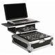 Odyssey Glide Combo Case for 12 in DJ Mixer Laptop