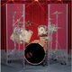 CLEARSONIC 5 FOOT DRUM SHIELD                    *