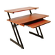 On-Stage WS7500RB Rosewood Workstation Desk