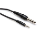 "Hosa CMS-103 3 Foot 1/8"" Stereo (M) To 1/4"" Stereo (M) Cable"