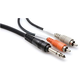 Hosa Insert Cable 6.5 Ft 1/4-Inch (M) To Dual RCA (M)