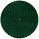 Ultrasound Green Velvet Swirl Slipmat (Pair)