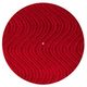 Ultrasound Red Velvet Swirl Slipmat (Pair)